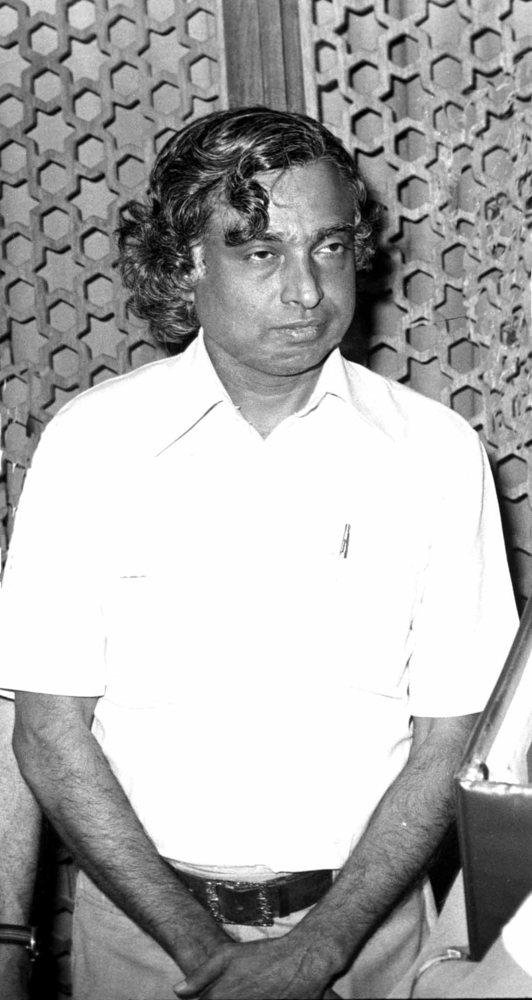 Abdul Kalam in ISRO