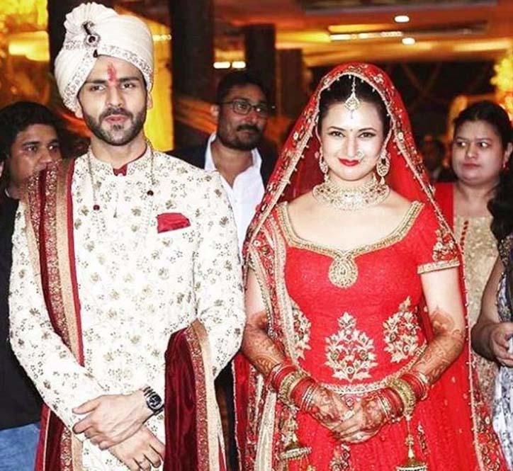 Divyanka tripathi vivek dahiya wedding pics