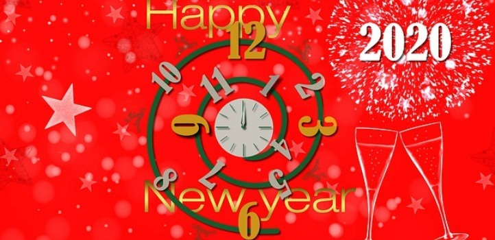 Happy New Year 2020 Jpeg Images Wallpapers Backgrounds